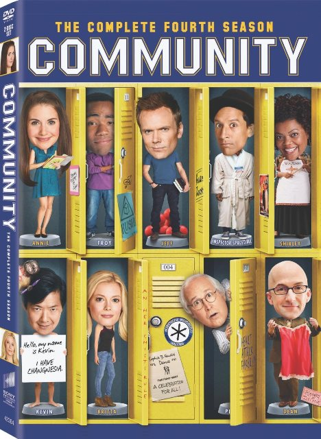 Community: The Complete Fourth Season was released on DVD on August 6, 2013