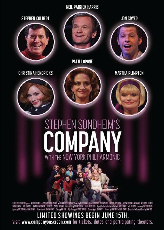 Stephen Sondheim's Company with the New York Philharmonic