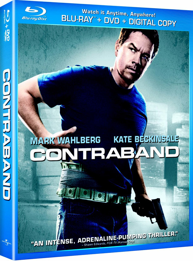 Contraband with Mark Wahlberg comes to Blu-ray and DVD on April 24, 2012