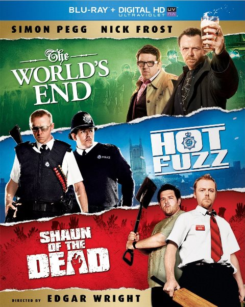The Cornetto Trilogy was released on Blu-ray on November 19, 2013
