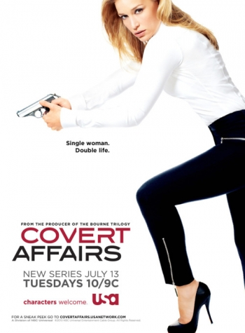 USA Network's Covert Affairs with Piper Perabo