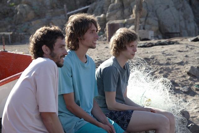 Juan Andrés Silva, José Miguel Silva and Michael Cera star in Sebastián Silva's Crystal Fairy.