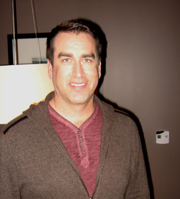 Rob Riggle in Chicago, February 29th, 2012