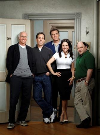 Larry David, Jerry Seinfeld, Michael Richards, Julia Louis-Dreyfus, Jason Alexander.