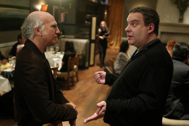 Larry David, Jeff Garlin.