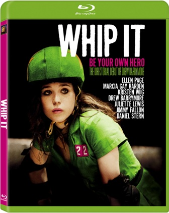Whip It was released on Blu-ray and DVD on January 26th, 2010.