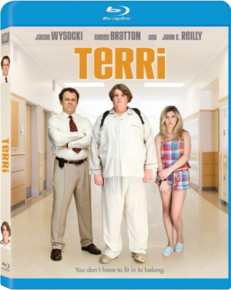 Terri was released on Blu-ray and DVD on October 11th, 2011