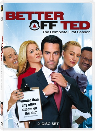 Better Off Ted: The Complete First Season was released on DVD on December 1st, 2009.