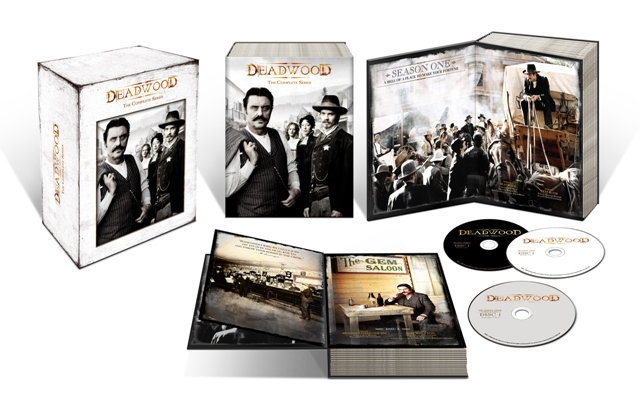Deadwood: The Complete Series is available on DVD December 9, 2008.