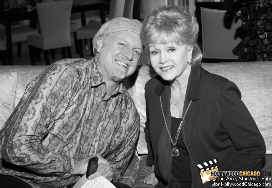 The Unsinkable Debbie Reynolds with Patrick McDonald in Chicago, November 6th, 2009