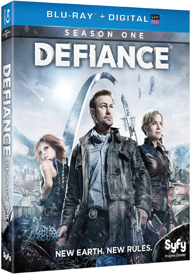Defiance: Season 1 starring Grant Bowler and Julie Benz came to Blu-ray and DVD on Oct. 15, 2013
