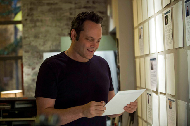 Vince Vaughn as David Wozniak in Delivery Man