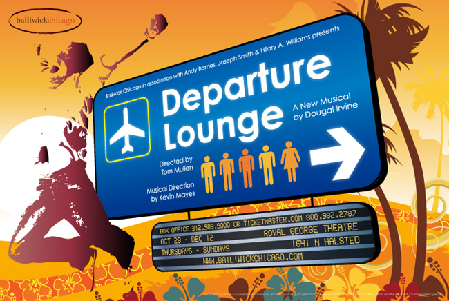 Departure Lounge at the Royal George Cabaret Theater from Bailiwick Chicago