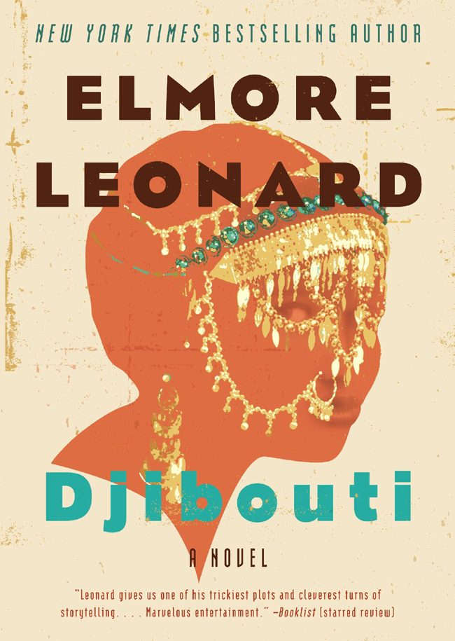The book Djibouti from FX's Justified character creator Elmore Leonard