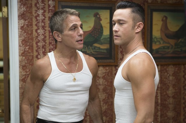 Joseph Gordon-Levitt and Tony Danza in Don Jon