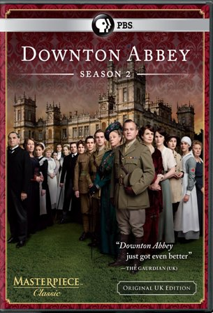Downton Abbey: Season Two was released on Blu-ray and DVD on February 7, 2012