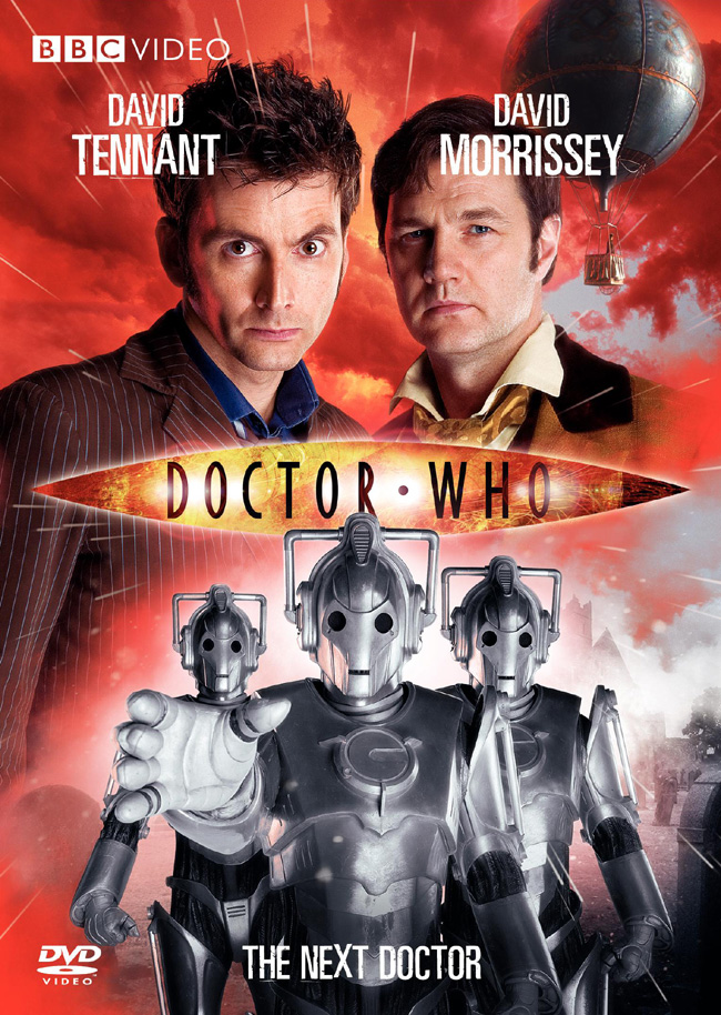 The DVD cover for Doctor Who: The Next Doctor