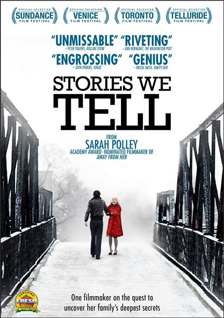 Stories We Tell was released on DVD on September 3, 2013