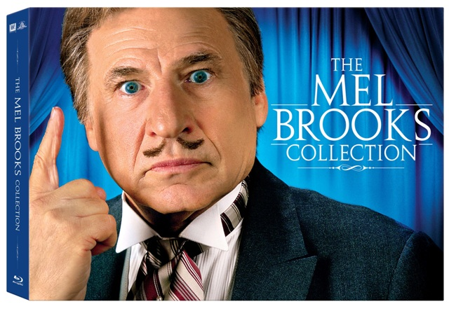 The Mel Brooks Collection was released on Blu-Ray on December 15th, 2009.
