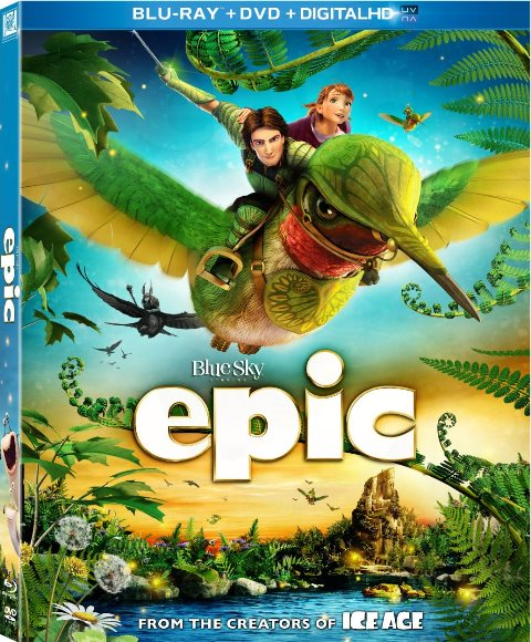 Epic was released on Blu-ray and DVD on August 20, 2013