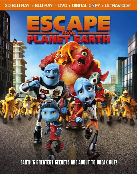 Escape From Planet Earth was released on Blu-ray and DVD on June 4, 2013