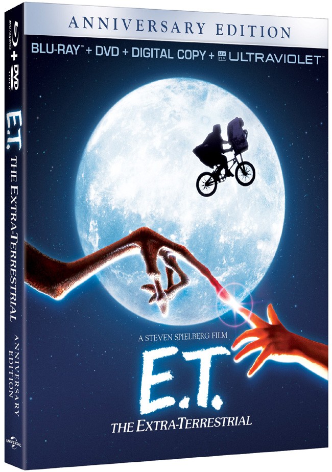E.T.: The Extra-Terrestrial comes to Blu-ray and DVD combo pack on Oct. 9, 2012
