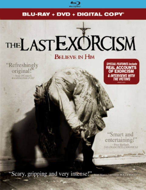The Last Exorcism was released on Blu-Ray and DVD on Jan. 4, 2011.