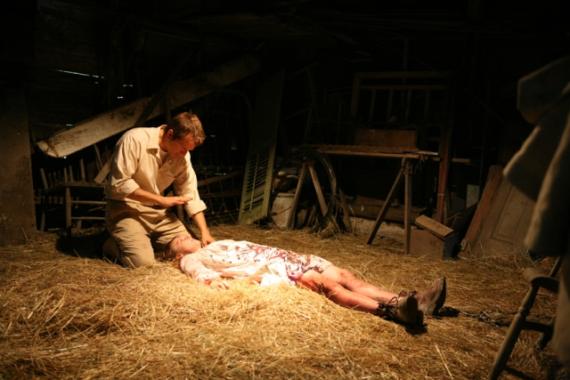 Patrick Fabian and Ashley Bell star in Daniel Stamm's The Last Exorcism.