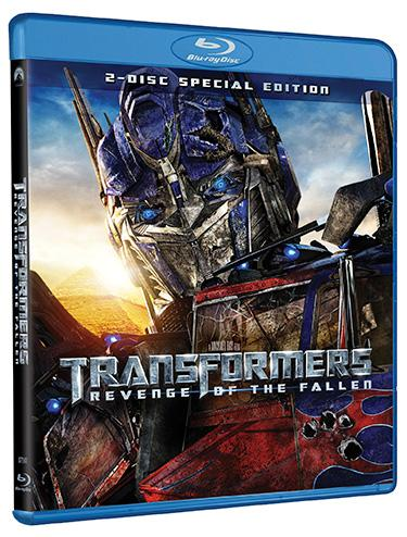 Transformers: Revenge of the Fallen will be released on DVD and Blu-Ray on October 20th, 2009.