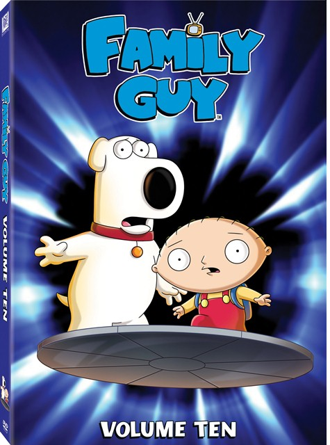 Family Guy: Volume 10 was released on DVD on September 25, 2012