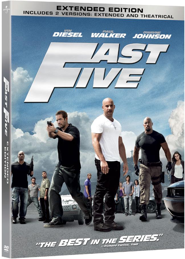 Fast Five DVD