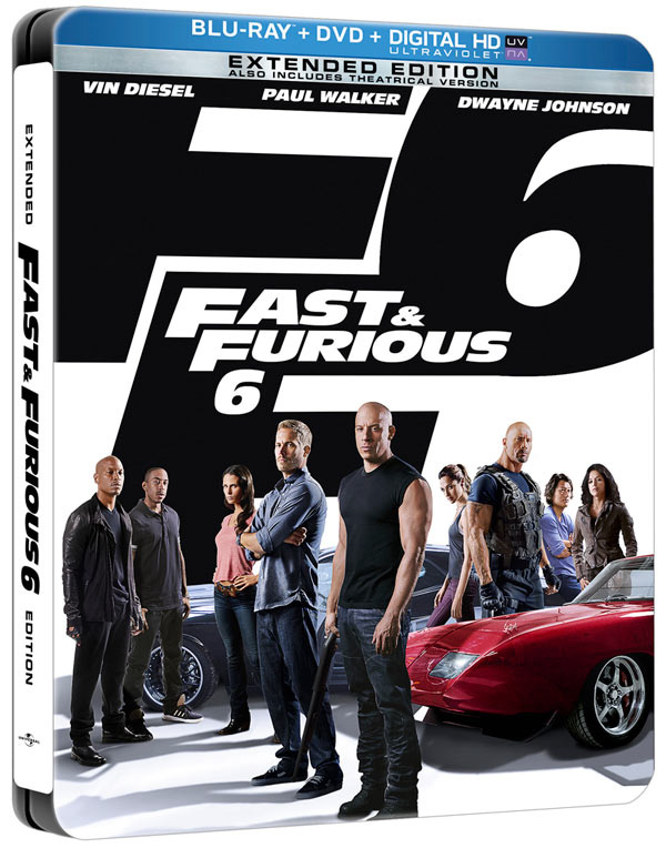 Fast and Furious 6 with Vin Diesel and Paul Walker came to Blu-ray and DVD combo pack on Dec. 10, 2013