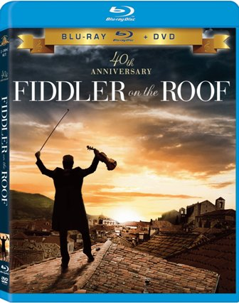 Fiddler on the Roof was released on Blu-Ray and DVD on April 5, 2011.