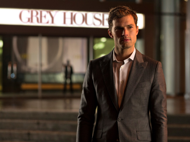 Jamie Dornan in Fifty Shades of Grey