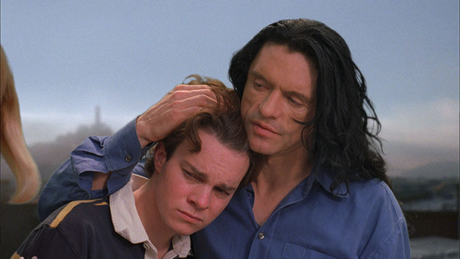 Philip Haldiman and Tommy Wiseau star in The Room.