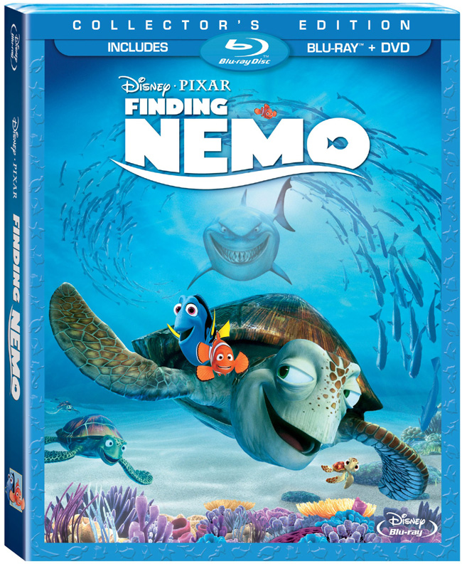 Finding Nemo with Ellen DeGeneres came to Blu-ray and DVD on Dec. 4, 2012