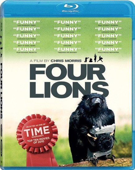 Four Lions was released on Blu-Ray and DVD on March 8, 2011.