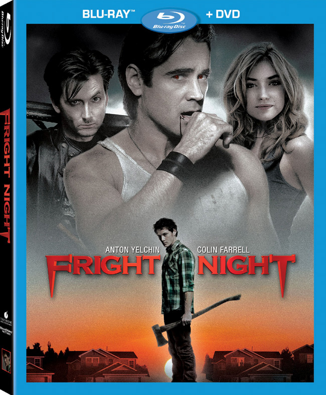 Fright Night with Colin Farrell will be released on Dec. 13, 2011 on Blu-ray and DVD