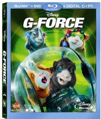 G-Force was released on Blu-Ray and DVD on December 15th, 2009.