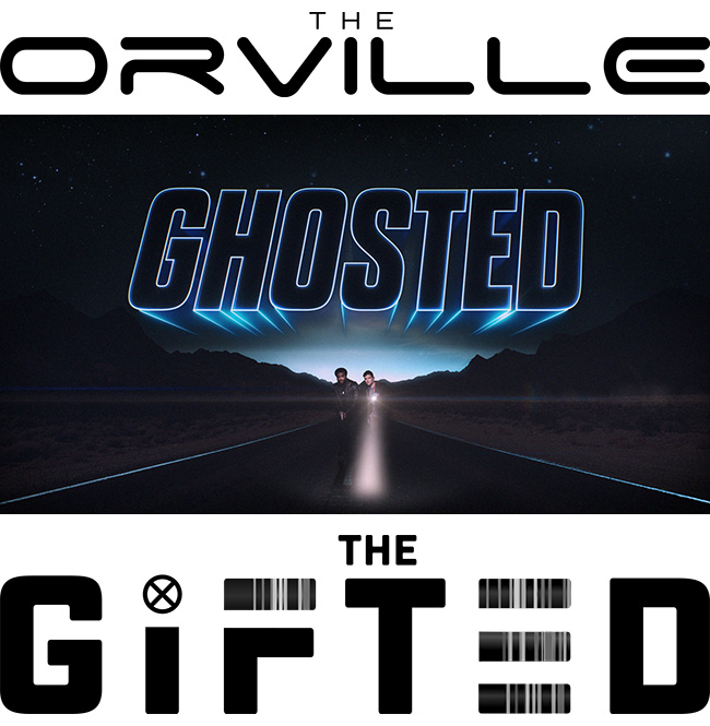 The Gifted, Ghosted and The Orville on FOX TV