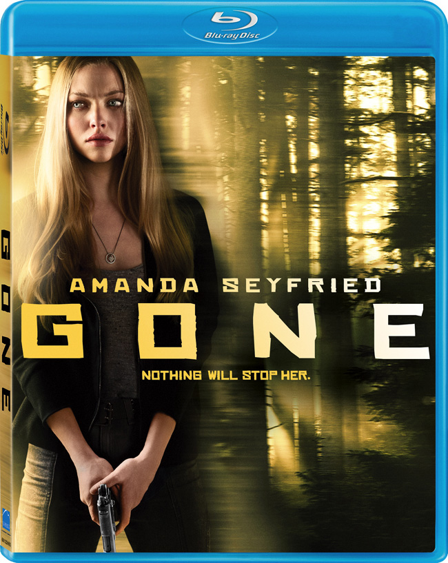 Gone with Amanda Seyfried will be released on Blu-ray and DVD on May 29, 2012