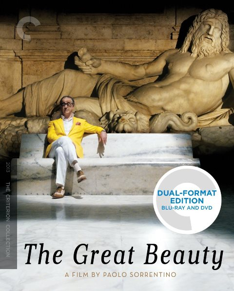 The Great Beauty was released on Blu-ray on March 25, 2014