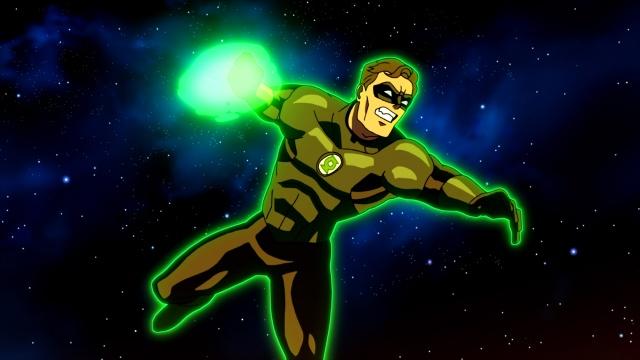 Nathan Fillion voices Hal Jordan in DC's original movie Green Lantern: Emerald Knights.