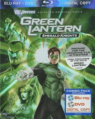 Green Lantern: Emerald Knights was released on Blu-Ray and DVD on June 7, 2011.