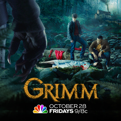 Grimm on NBC premieres on Friday, Oct. 28, 2011 at 8 p.m. CST