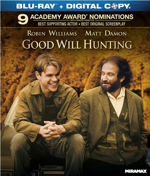 Good Will Hunting will be released on Blu-ray on August 30th, 2011