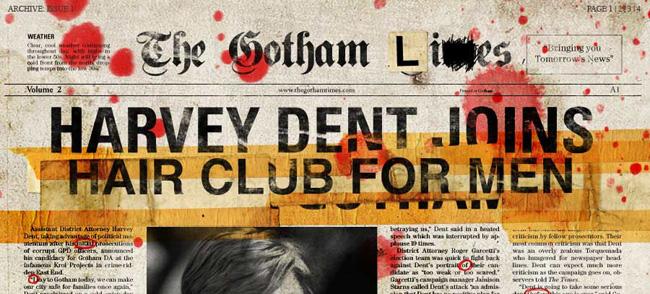 TheHaHaHaTimes.com, The Dark Knight