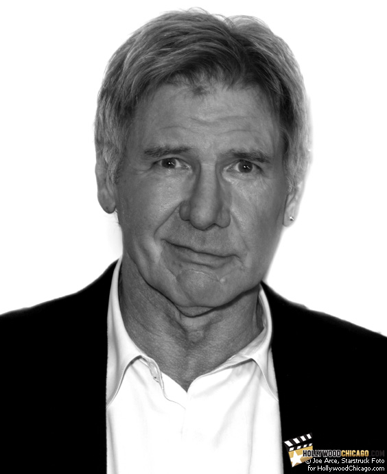 Harrison Ford of Extraordinary Measures in Chicago on Jan. 12, 2010