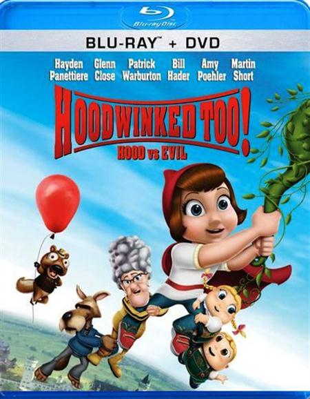 Hoodwinked Too! Hood vs. Evil was released on Blu-ray and DVD on August 16th, 2011