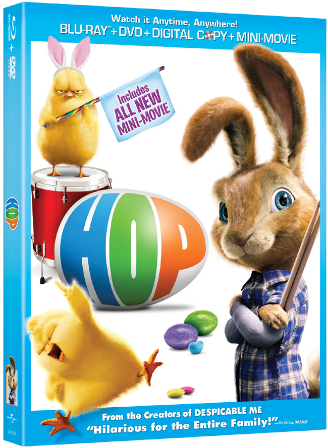 Hop comes to Blu-ray and DVD on March 23, 2012